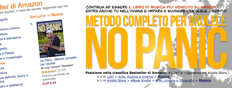 No Panic - Bestseller su Amazon