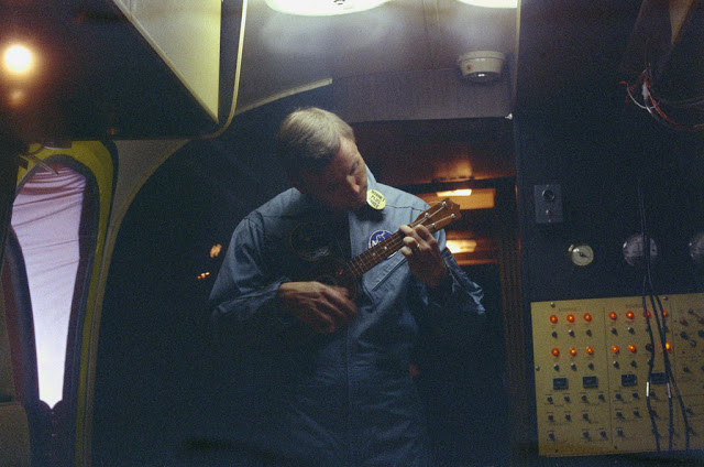 Armstrong & Ukulele by Don Blair