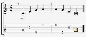 Arpeggio su ukulele