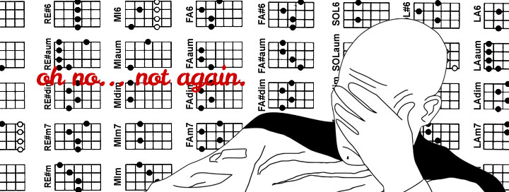Spartiti ukulele soprano