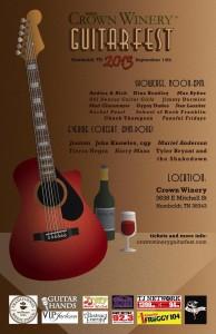 Crown Winery Guitarfest 2013