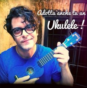 Samuele Bersani ukulele