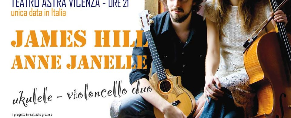 James Hill & Anne Janelle in concerto