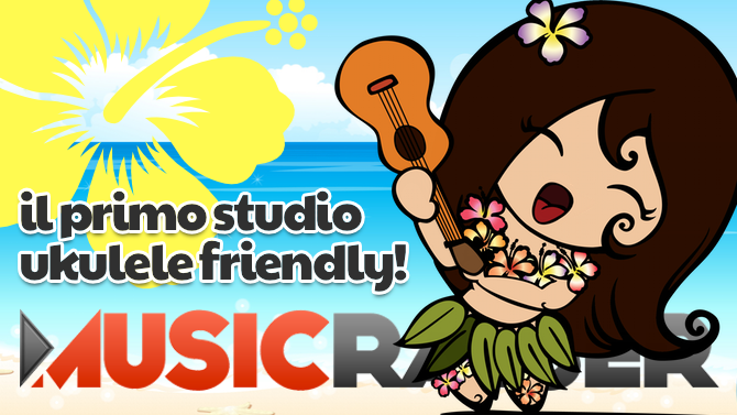 "Sogno il primo studio ""Ukulele friendly"" ...e tu?"
