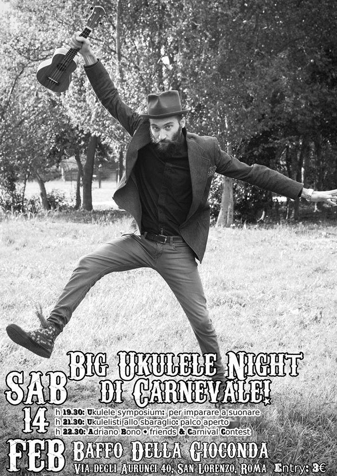 Big Ukulele Night di Carnevale