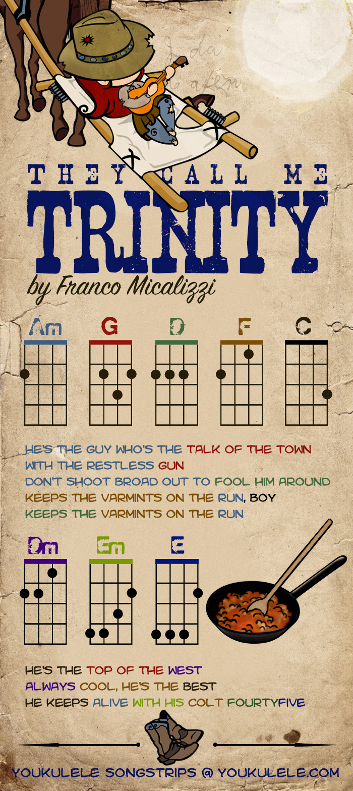 They Call Me Trinity Franco Micalizzi Songstrip Youkulele